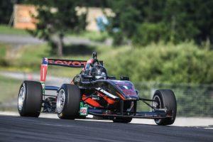 Australian F4 Champion-Jayden Ojeda tests the Toyota FT 50