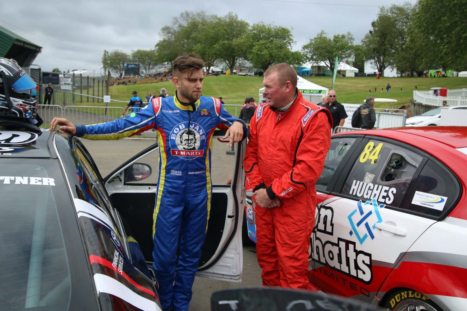 Andre heads back to BNT V8s