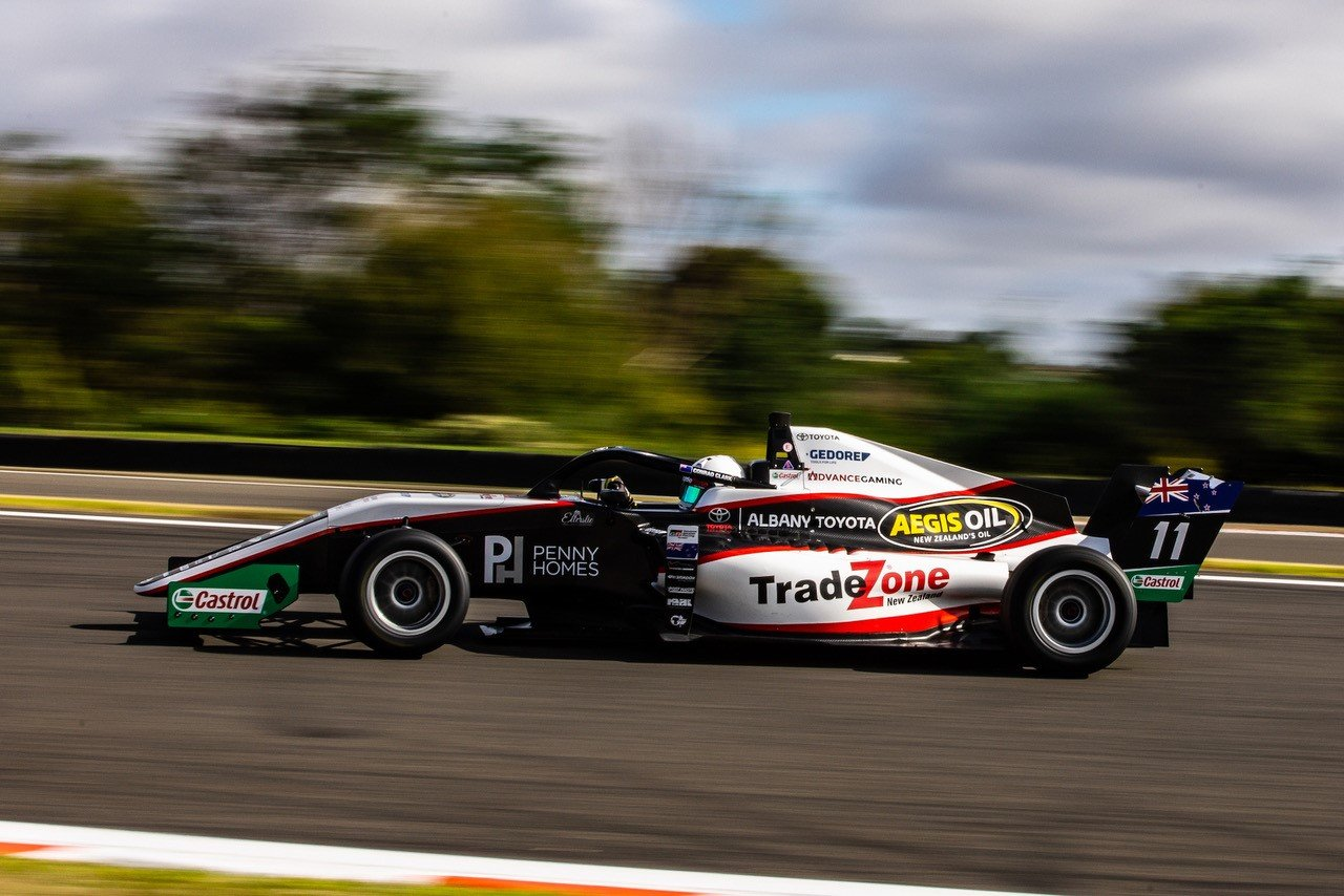 Pair of podiums end Conrad Clark's TRS season on a high